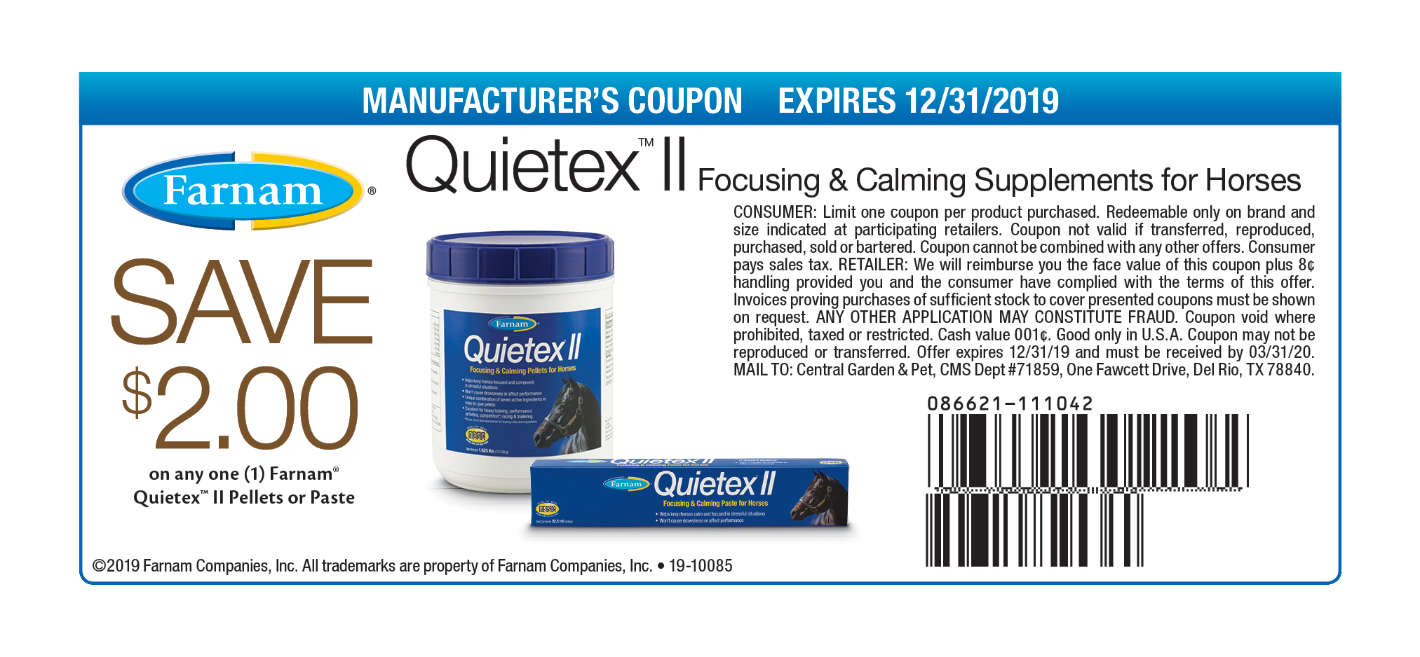 19-10085_FM_111042_QuietexII_Save$2_DigitalCoupon